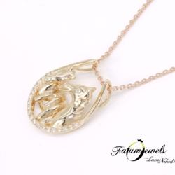 rose-arany-gyemant-medal-lanccal-lovas-lm01-0-09ct-w-vs1-si1-14k-2
