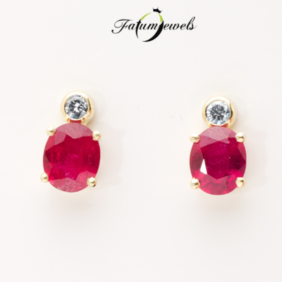 sarga-arany-gyemant-rubin-fulbevalo-fr289-rubin-mi-1-77ct-gyemant-w-si1-0-10ct-14k-1