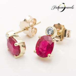 sarga-arany-gyemant-rubin-fulbevalo-fr289-rubin-mi-1-77ct-gyemant-w-si1-0-10ct-14k-2