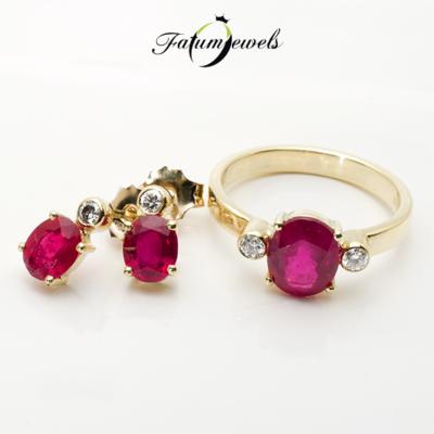 sarga-arany-gyemant-rubin-szett-fr406-rubin-mi-3-75ct-gyemant-w-vs1-si1-0-20ct-14k-1