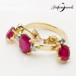 sarga-arany-gyemant-rubin-szett-fr406-rubin-mi-3-75ct-gyemant-w-vs1-si1-0-20ct-14k-2