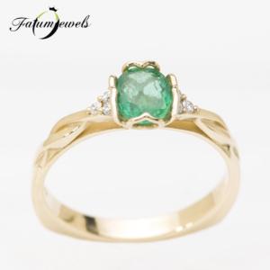 sarga-arany-gyemant-smaragd-gyuru-fr047-arabic-0-06ct-tw-vs1-smaragd-0-58ct-mi-14k-2