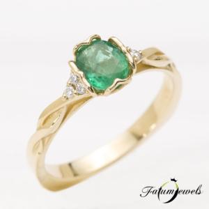 sarga-arany-gyemant-smaragd-gyuru-fr047-arabic-0-06ct-tw-vs1-smaragd-0-58ct-mi-14k