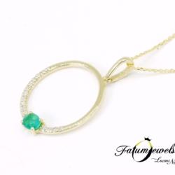 sarga-arany-gyemant-smaragd-medal-orakulum-fr251-0-10ct-w-vs1-zafir-0-13ct-li-14k-2