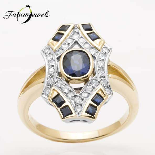 sarga-arany-gyemant-zafir-gyuru-fr048-art-deco-0-448ct-w-vs1-si1-zafir-1-08ct-mi-14k