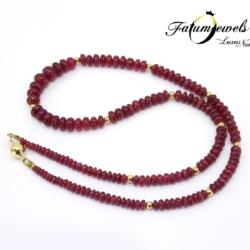 sarga-arany-rubin-nyaklanc-fr055-14k-2