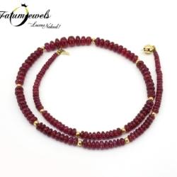 sarga-arany-rubin-nyaklanc-fr055-14k-3