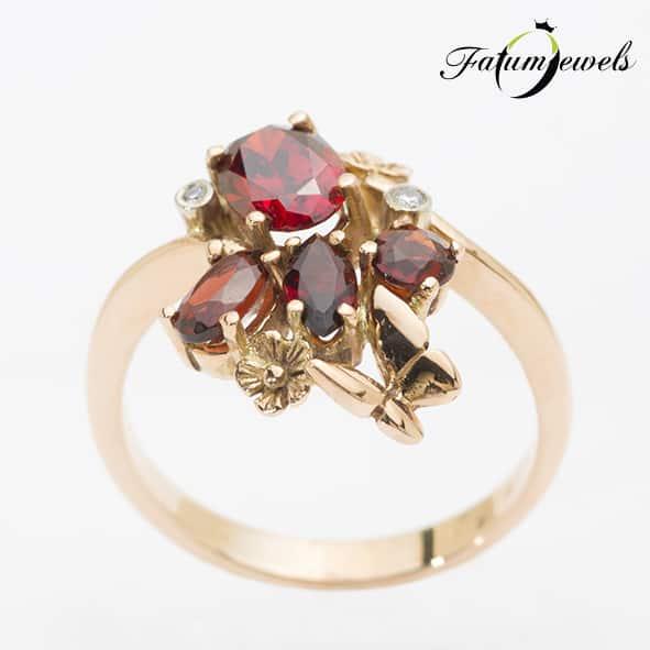 rose-arany-gyemant-granat-gyuru-rggy02-gyemant-0-013ct-h-i-si-i1-granat-1-32ct-li-14k-1