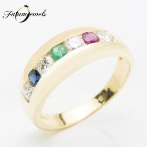 sarga-arany-gyemant-rubin-zafir-smaragd-gyuru-agy195-gyemant-0-40ct-h-vs1-si1-rubin-0-09ct-li-sm-0-08ct-mi-zafir-0-09vt-li-14k