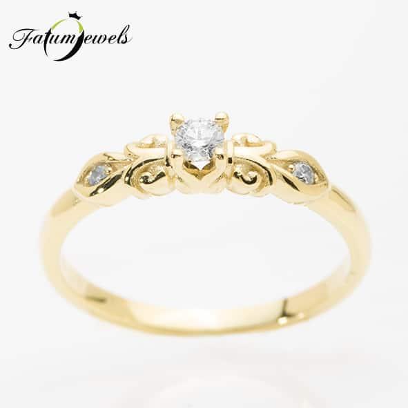sarga-arany-gyemant-eljegyzesi-gyuru-vintage-fr349-gyemant-0-12ct-w-vs1-14k