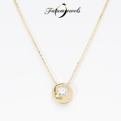 sarga-arany-gyemant-medal-lanccal-fm77-0-10ct-h-si1-18k