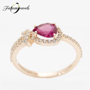 roze-arany-rubin-gyemant-gyuru-egyiptom-fr2057-rubin-0-88ct-gyemant-0-28ct-w-vs1-14k