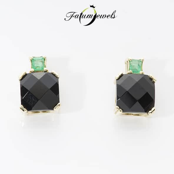 sarga-arany-onix-smaragd-fulbevalo-fr2030-onix-0-88ct-opak-smaragd-0-012ct-li-14k