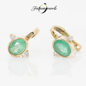 sarga-arany-smaragd-gyemant-fulbevalo-fr2021-smaragd-1-65ct-hi-gyemant-0-082ct-j-k-si1-i1-14k