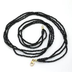 fekete-spinel-nyaklanc-arany-kapoccsal-fsny01-14k