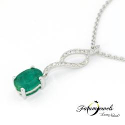 18k-feherarany-gyemant-smaragd-medal-lanccal-fr635-gyemant-0-06ct-h-vs1-smaragd