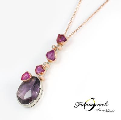 bikolor-gyemant-rubin-turmalin-medal-lanccal-fr764-gyemant-0-03ct-k-si2-rubin-hi-1-96ct-turmalin