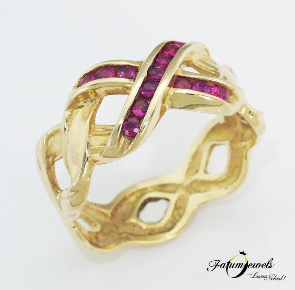 sarga-arany-rubin-gyuru-agy203-rubin