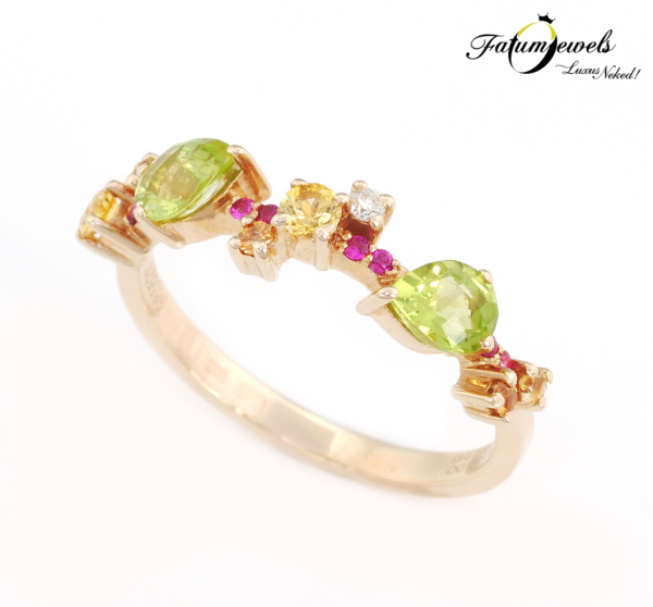 roze-arany-gyemant-zafir-rubin-peridot-gyuru-agy207-gyemant-szines