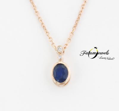 roze-arany-gyemant-zafir-medal-lanccal-fr853-gyemant-zafir